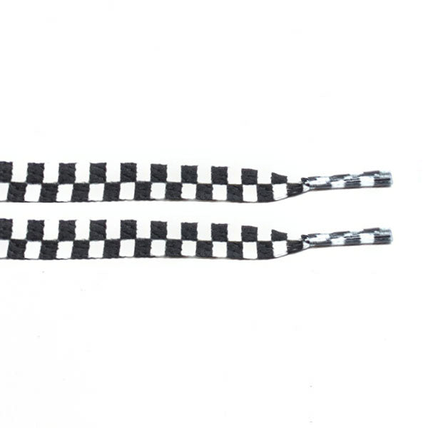 Chequered - Flat Laces - LaceSpace
