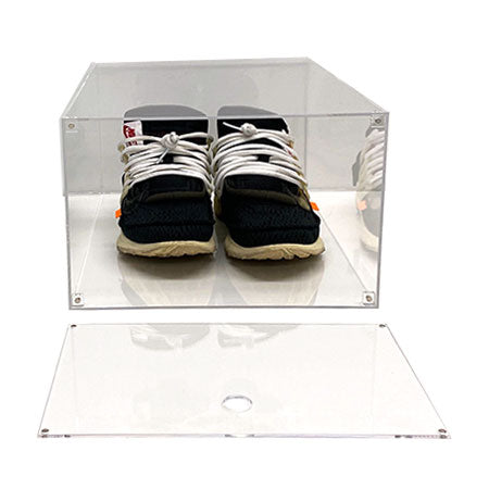 Drop Front Premium Sneaker Display Case | Acrylic - LaceSpace