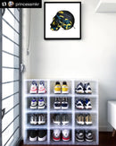 CYBER MONDAY DEAL 6 Pack - Sneaker Display Cases - Free Delivery Australia Wide - LaceSpace