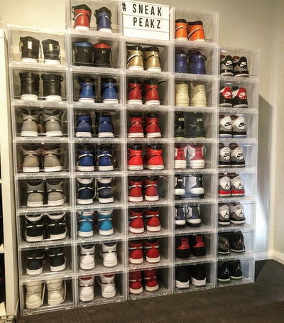6 Pack - Sneaker Display Cases - Free Delivery Australia Wide - LaceSpace
