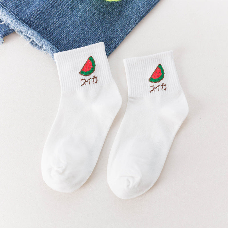 Watermelon Socks - LaceSpace