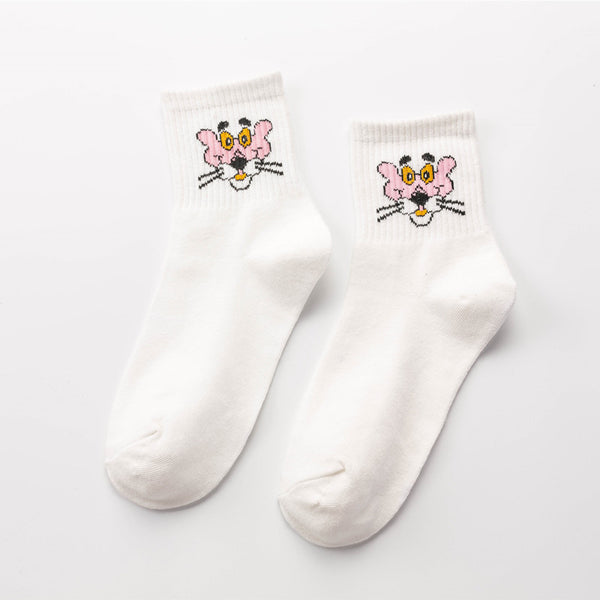 Pink Panther Socks - LaceSpace