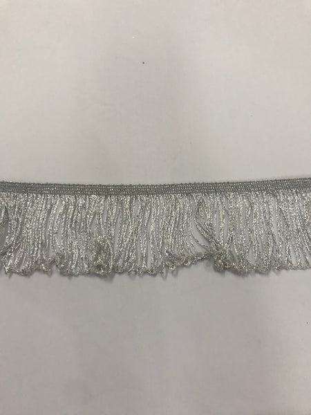 Stretch Fringe Metallic