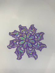 Sequin Flower Motif