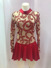Long Sleeve Sequin Mesh Contemporary