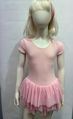 Ballet Leo with inserted Skirt