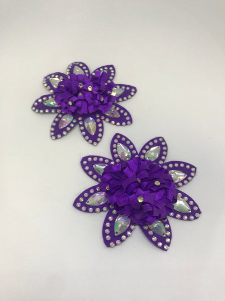 Purple Flower Motif