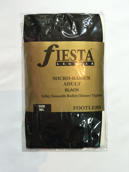 Fiesta Footless - Black