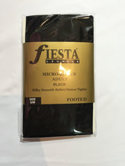 Fiesta Footed - Black