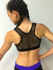 Mesh Sportsback Crop Top