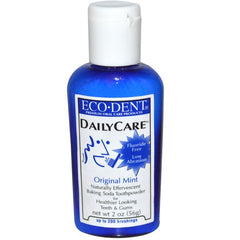Eco-Dent Daily Care Toothpowder Original Mint Fluoride Free 2 oz