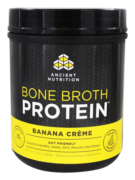 Ancient Nutrition - Bone Broth Protein Banana Creme - 17.3 oz.