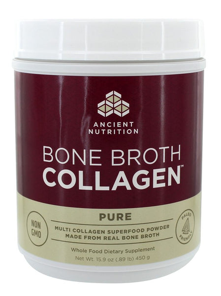 Ancient Nutrition - Bone Broth Collagen Pure - 15.9 oz.