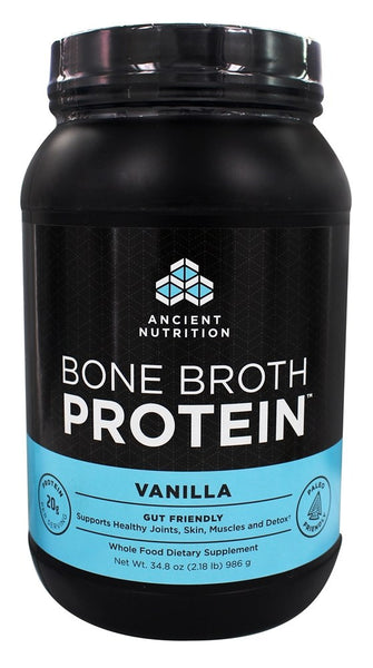 Ancient Nutrition - Bone Broth Protein Vanilla - 34.8 oz.