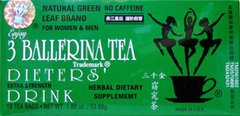3 Ballerina Tea Dieters' Drink Extra Strength