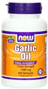 NOW Foods Garlic Oil 1500 mg , 250  Soft-gels
