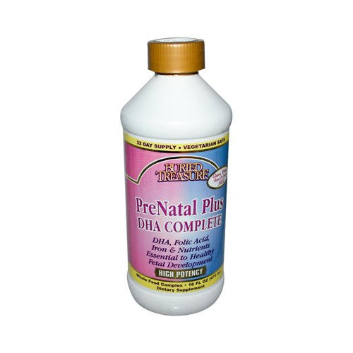 Buried Treasure PreNatal Plus DHA Complete, 16 fl oz