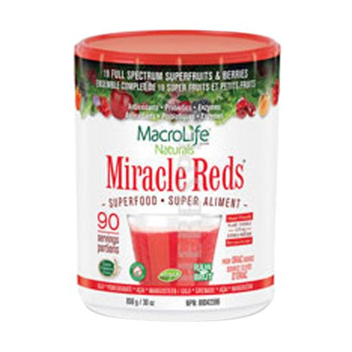 MacroLife Naturals Miracle Reds, 90 Servings, 30 oz