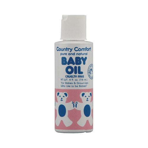 Country Comfort Baby Oil, 4 fl oz