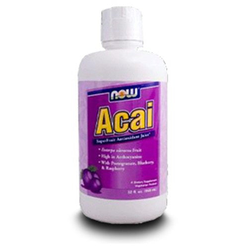 NOW Foods Acai Juice Superfruit Tonic, 32 fl oz
