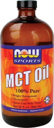 NOW Sports 100% Pure MCT Oil