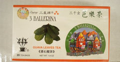 3 Ballerina Guava Leaves 20 Tea Bags