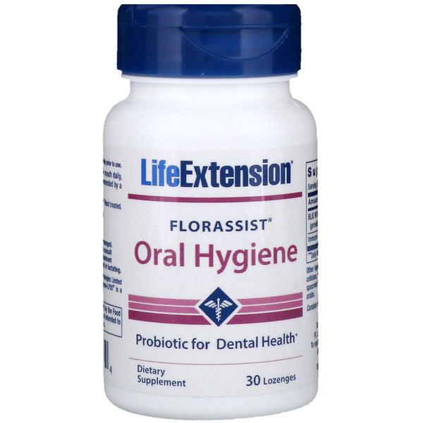 Life Extension FLORASSIST® Oral Hygiene 30 lozenges