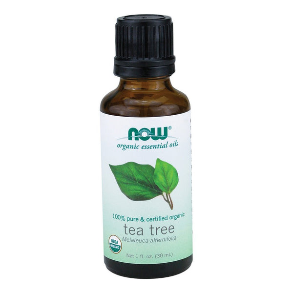 NOW Organic Essential Oils 100% Pure & Certified Organic Tea Tree