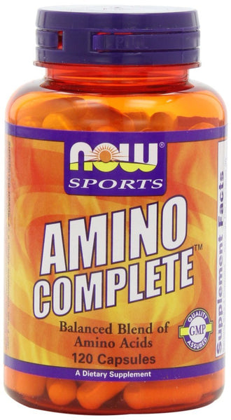 NOW Foods Amino Complete, 120 Capsules