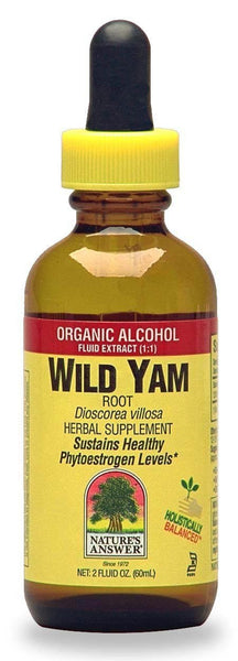 Nature's Answer Wild Yam Root with Organic Alcohol, 2 fl oz