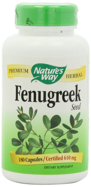 Nature's Way Fenugreek Seed 610 mg