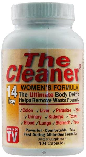 The Cleaner 14 Day Women's Formula, 104 Capsules