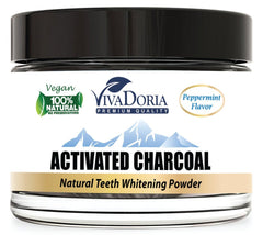 Vivadoria Activated Charcoal Natural Tooth Whitening Powder 1.5 oz (43 g)