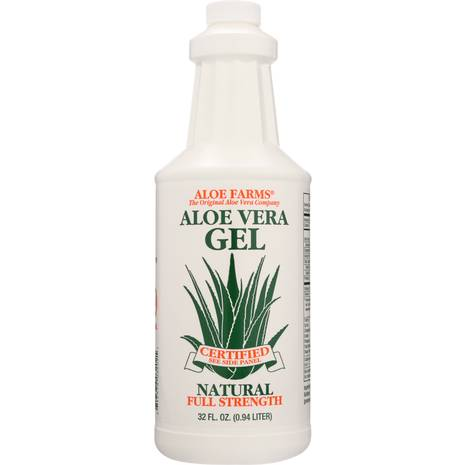 Aloe Farms Aloe Vera Gel Organic, 32-Ounce