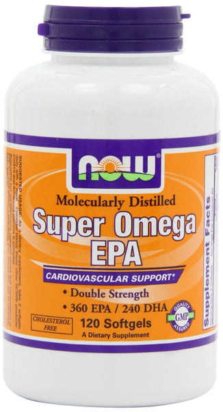 NOW Foods Super Omega EPA, 120 Softgels
