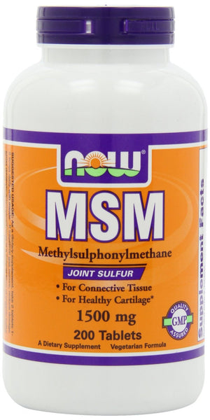 NOW Foods MSM, 1500 mg