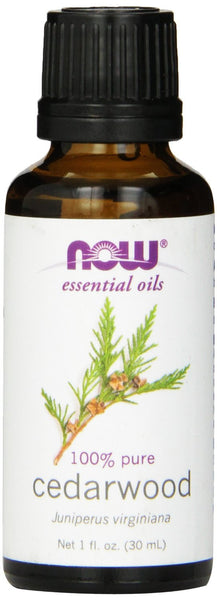 NOW Essential Oils 100% Pure Cedarwood