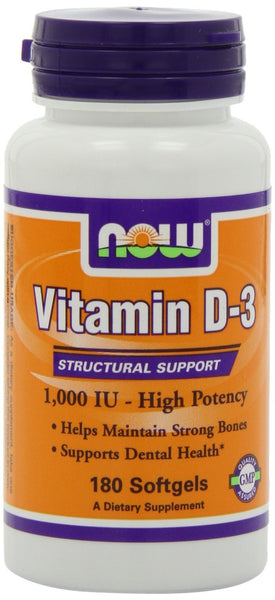 NOW Foods Vitamin D-3 1000 IU