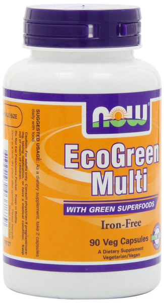 NOW Foods EcoGreen Multi