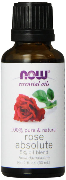 NOW Essential Oils 100% Pure & Natural Rose Absolute