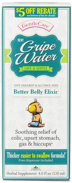 Gentle Care Gripe Water, 4.2 oz