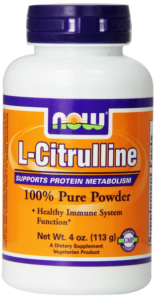 NOW Foods L-Citrulline Powder, 4 oz
