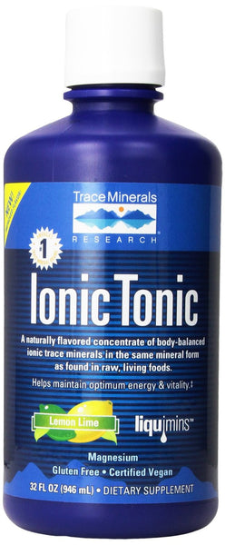 Trace Minerals Research Ionic Tonic, Lemon Lime, 32 fl oz