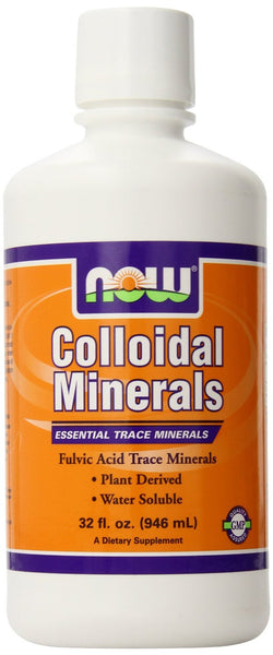 NOW Foods Colloidal Minerals Original, 32 ounce