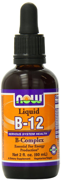 NOW Foods Liquid B-12