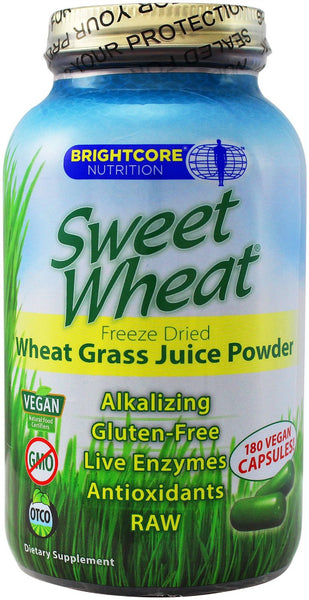 Brightcore Nutrition Sweet Wheat, 180 Capsules