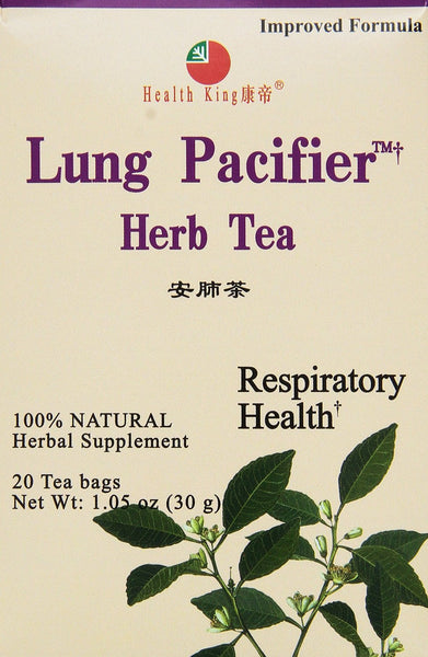 Health King Medicinal Teas Lung Pacifier Herb Tea