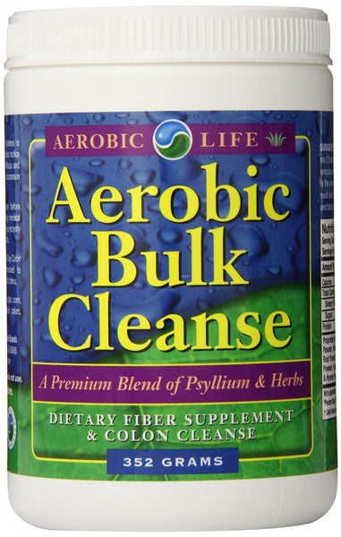 Aerobic Life ABC Aerobic Bulk Colon Cleanse Dietary Supplement, 352 Gram