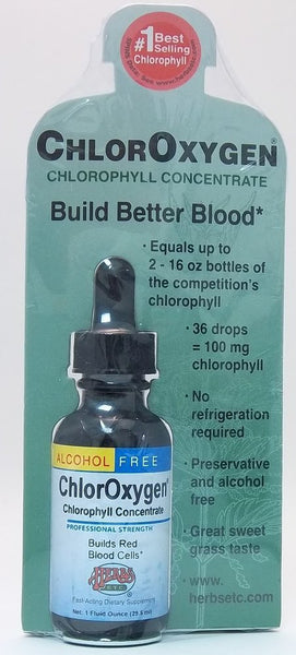 Herbs Etc Alcohol Free ChlorOxygen Herbs Etc 1 Fl Oz