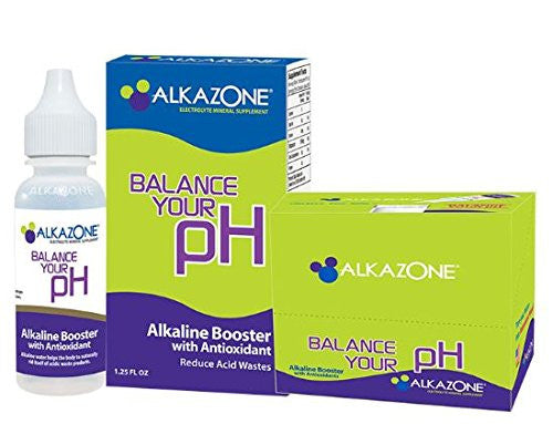 Alkazone Alkaline Booster Drops with Antioxidant, 1.2 Fluid Ounce
